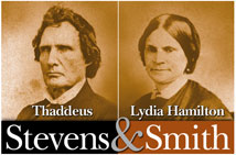 thaddeus stevens and lydia hamilton smith relationship