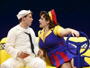 Alysha Umphress (R) in On The Town Broadway Revival