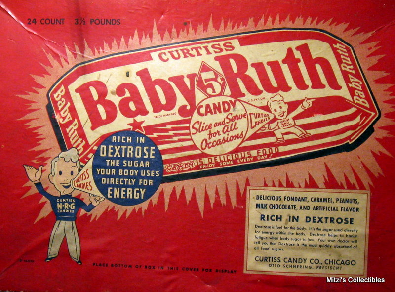 Baby Ruth Candy Bar, Supposedly Named After The Daughter of Frances Cleveland
