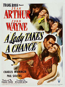John Wayne romantic comedy made during World War II.