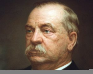 Grover Cleveland color painting