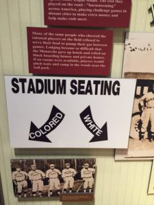Negro Leagues Baseball Museum Exhibit