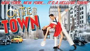 On the Town Broadway Revival Poster