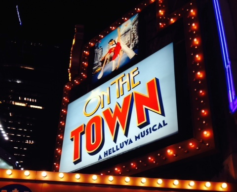 On the Town Broadway Revival – Sensational Show; Fabulously Funny