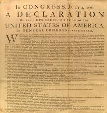 The Declaration Of Independence - America's Purpose Statement