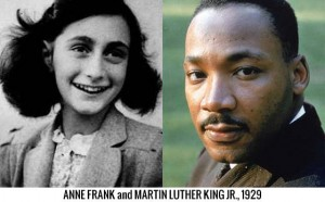 Overlapping History - Anne Frank and Martin Luther King