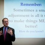 Barry Bradford - Motivational Speaker - Small Adjustments to Make Things Much Better