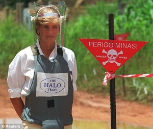 Princess Diana – land mines