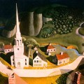 Paul Revere's Ride by Grant Wood