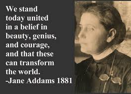 the life and accomplishments of jane addams Jane addams was known for many accomplishments throughout her life she was known as a sociologist, as a leader for women's rights, as a well as a advocate for peace.