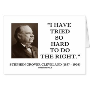 the early life and political career of grover cleveland Grover cleveland - early career grover cleveland - presidency  woodrow wilson - early career  losing in 1888 did not put an end to cleveland's political career .