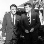 Peter Lawford And John F. Kennedy