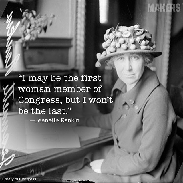 Jeannette Rankin – A Voice For Peace In Three Wars