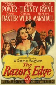 The Razor's Edge 1946 poster