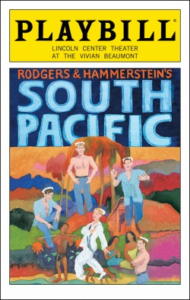 South Pacific Playbill