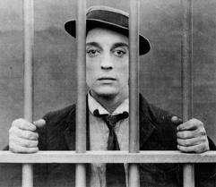 Buster Keaton in jail